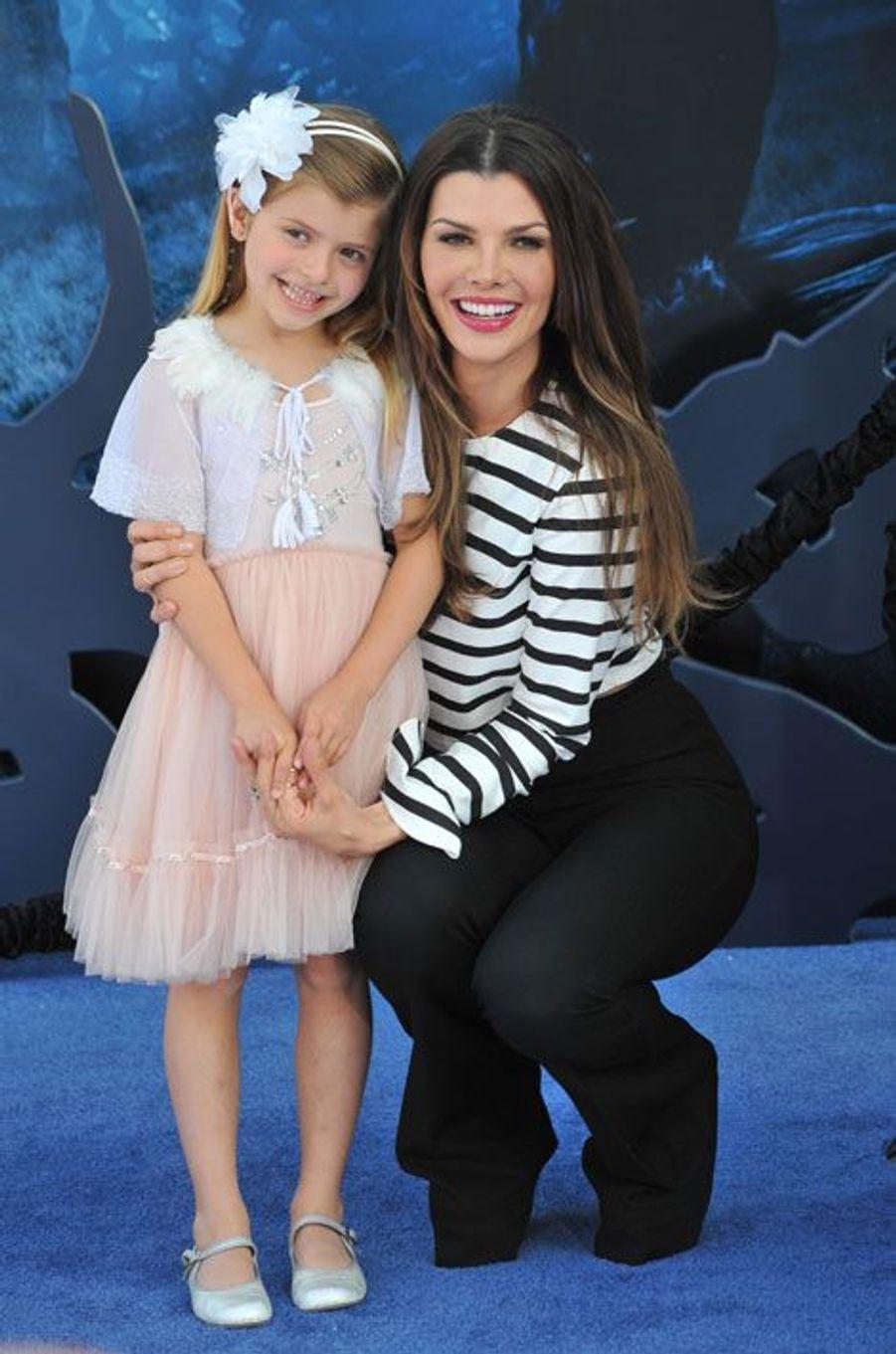 Ali Landry, Miss USA 96, et sa fille