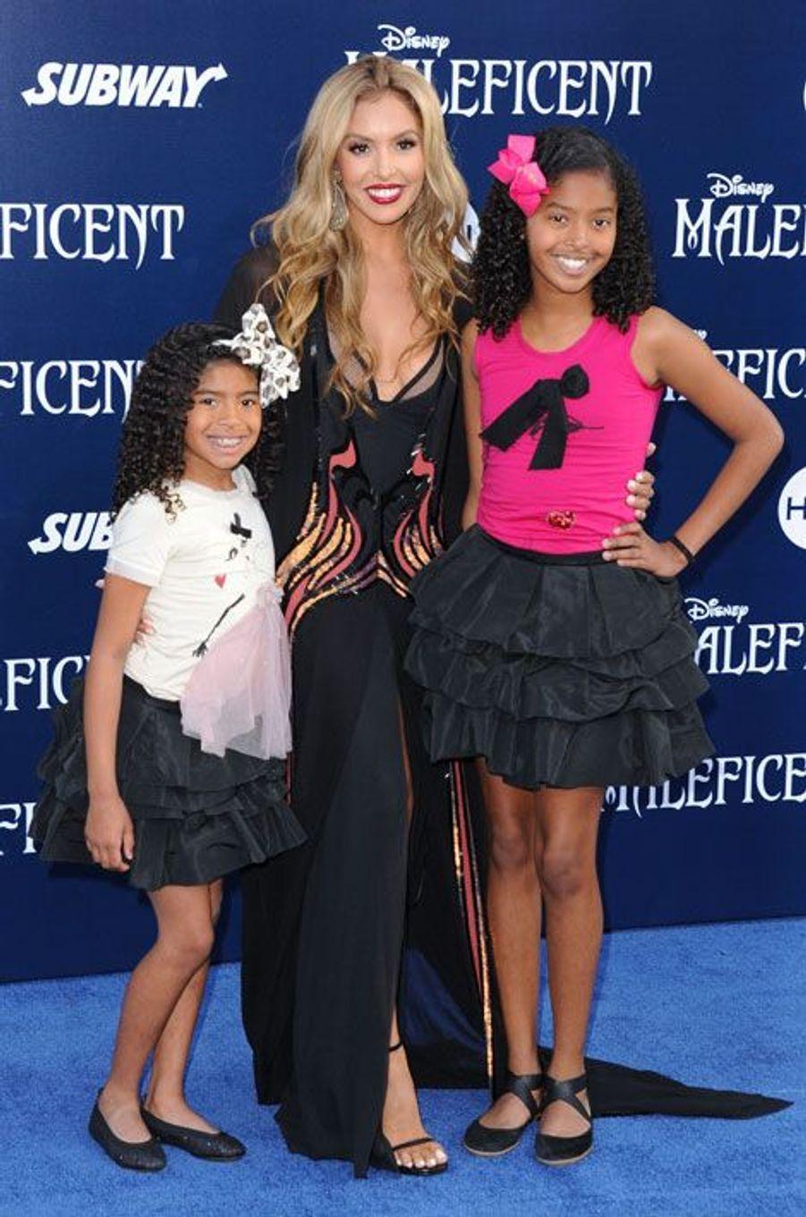 Vanessa Bryant, l'ex de Kobe, avec ses enfants