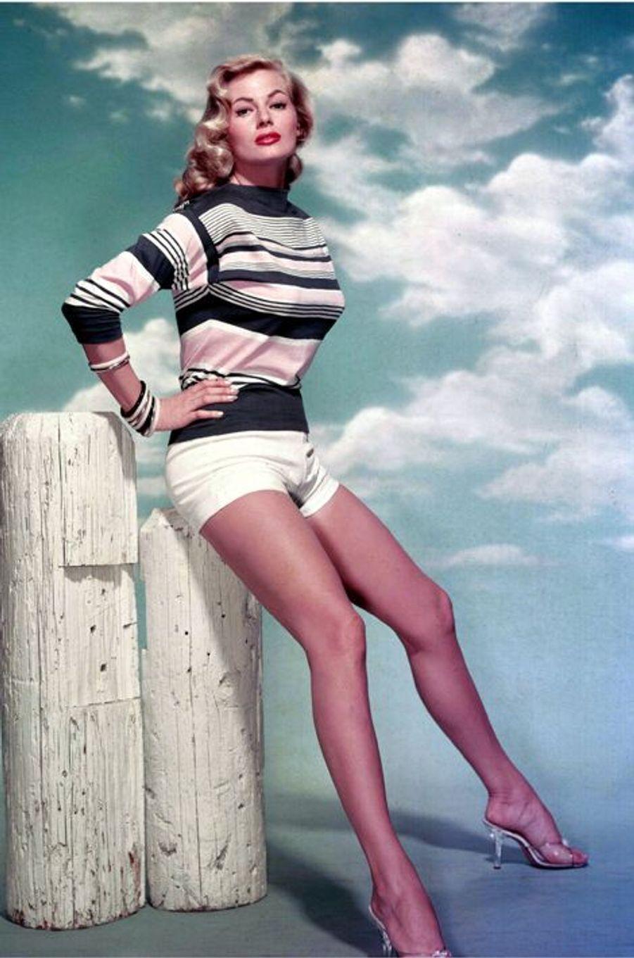 Anita Ekberg, en 1959