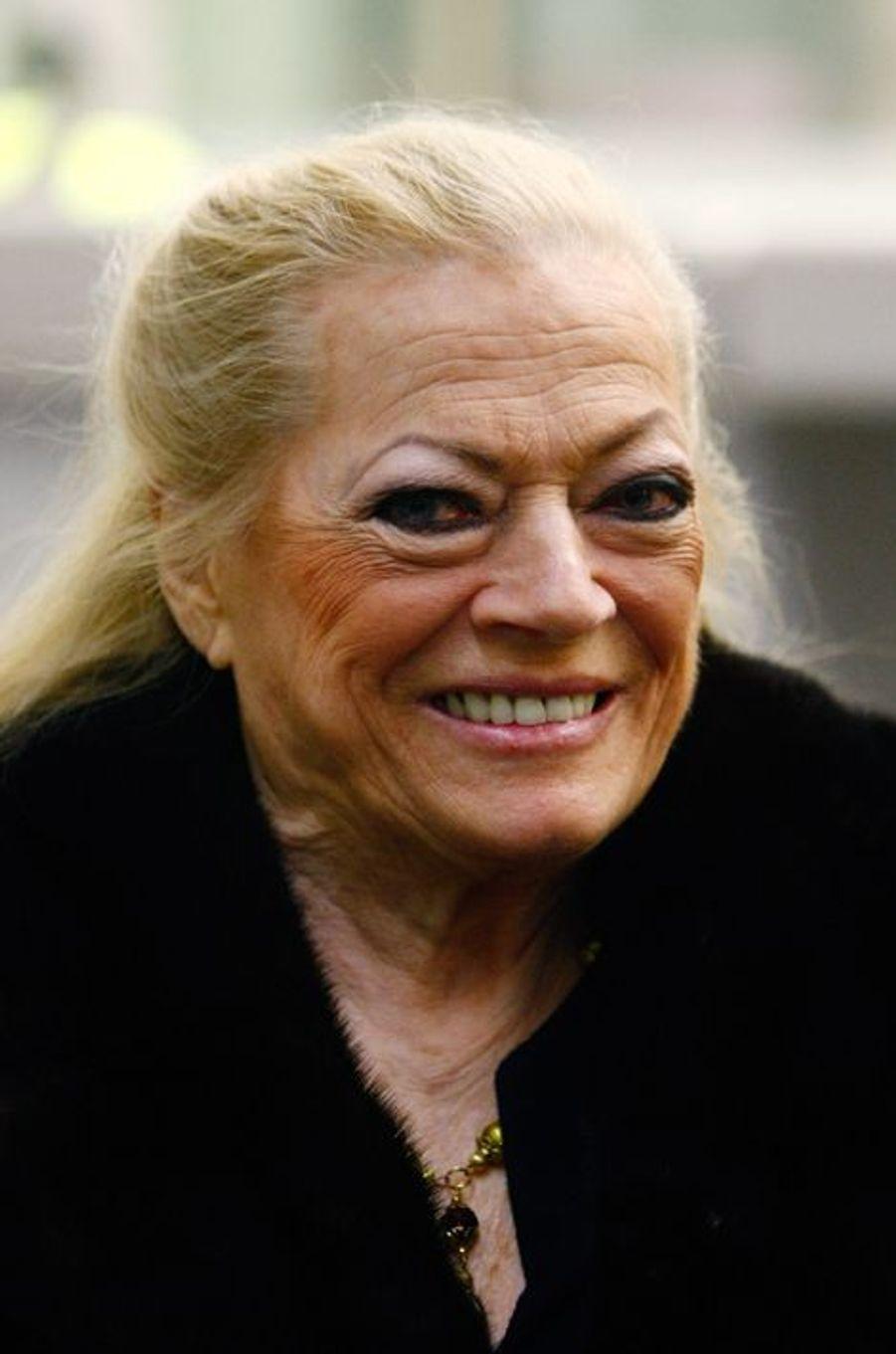 Anita Ekberg, en 2013