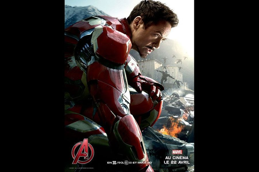 Iron Man (Robert Downey Jr)
