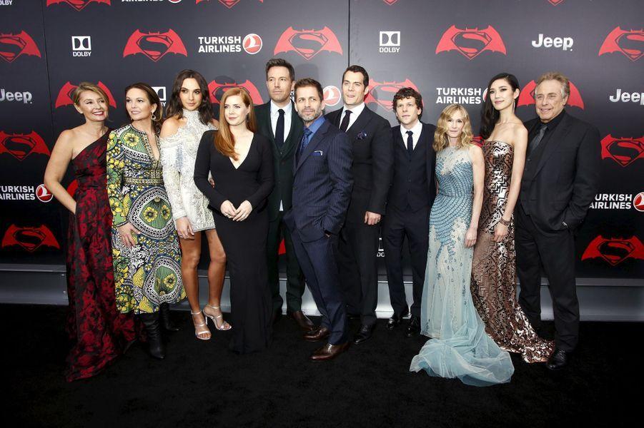 """Le casting de """"Batman v. Superman"""""""