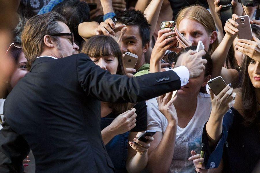 Brad Pitt à Sydney le 17 novembre 2014