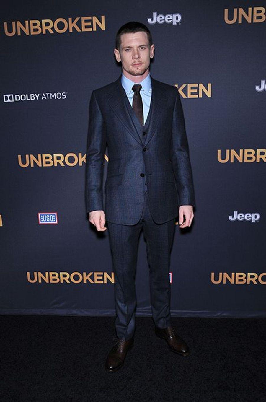 Jack O'Connell à Los Angeles le 15 décembre 2014