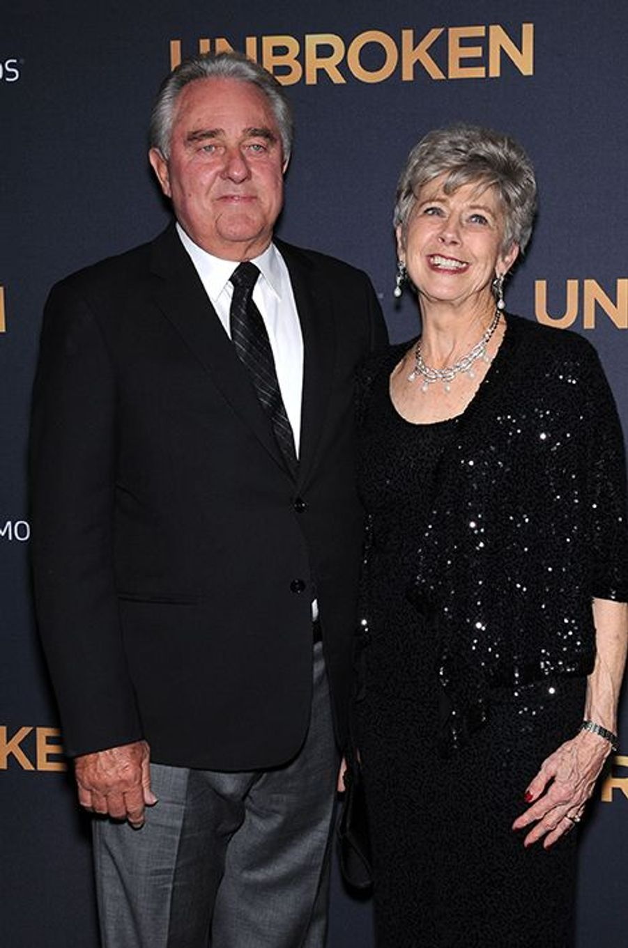 William et Jane Pitt à Los Angeles le 15 décembre 2014