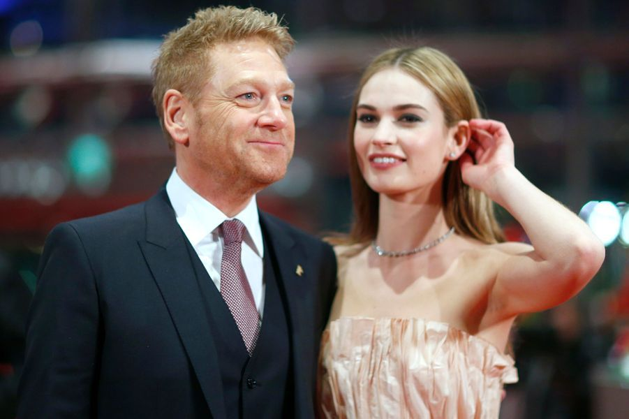 Kenneth Branagh et Lily James