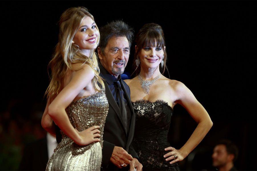 Al Pacino, Lucila Sola et Camila Sola