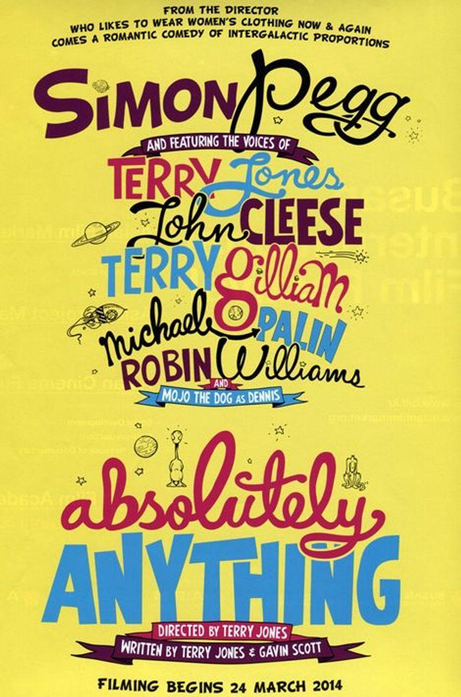 """Absolutely Anything"" de Terry Jones, sans date"