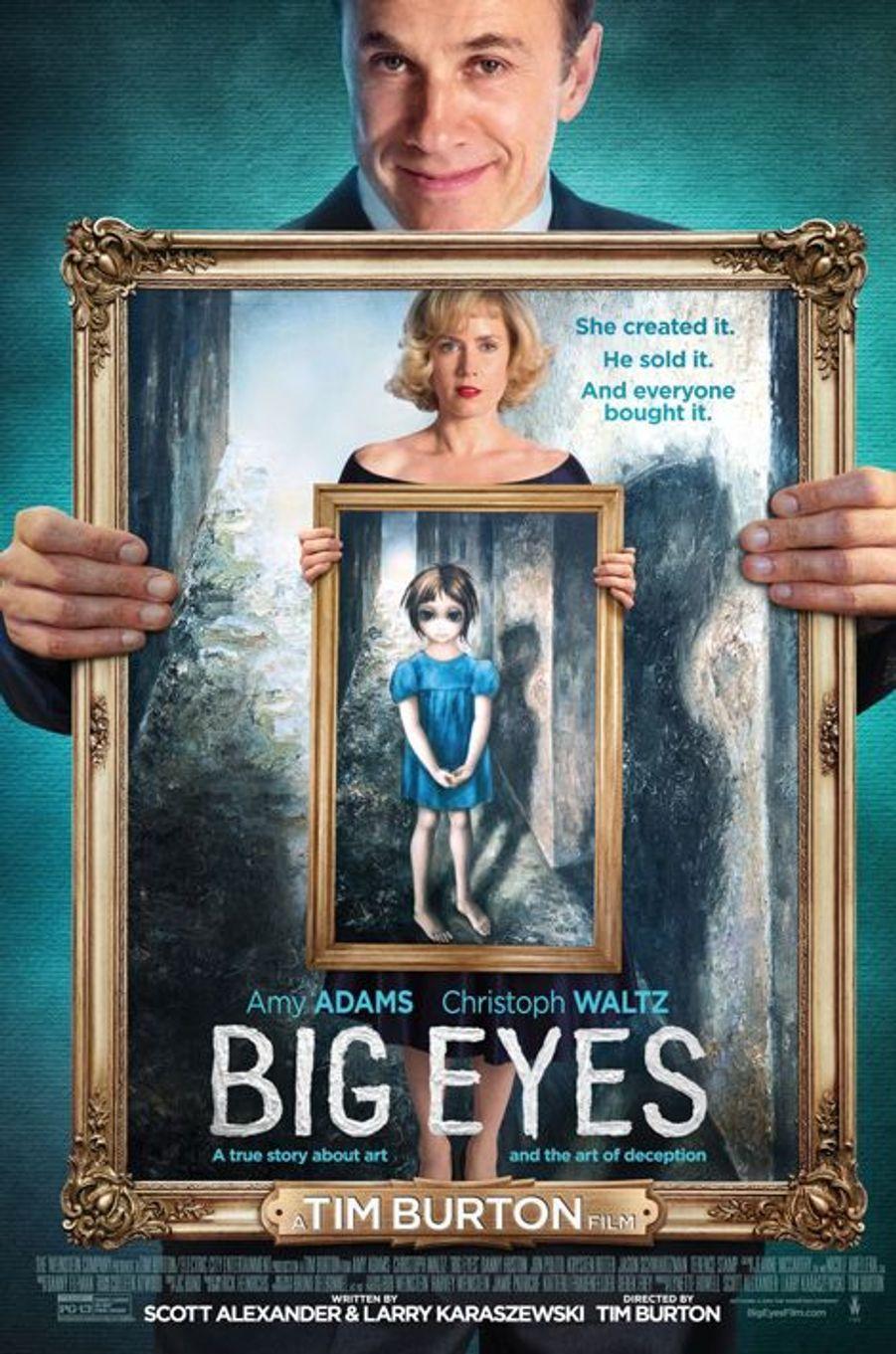 """""""Big Eyes"""" de Tim Burton, sortie le 25 mars"""