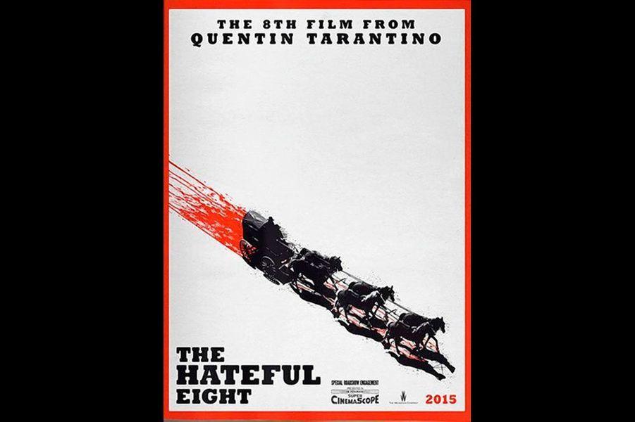 """The Hateful Eight"" de Quentin Tarantino, sans date"