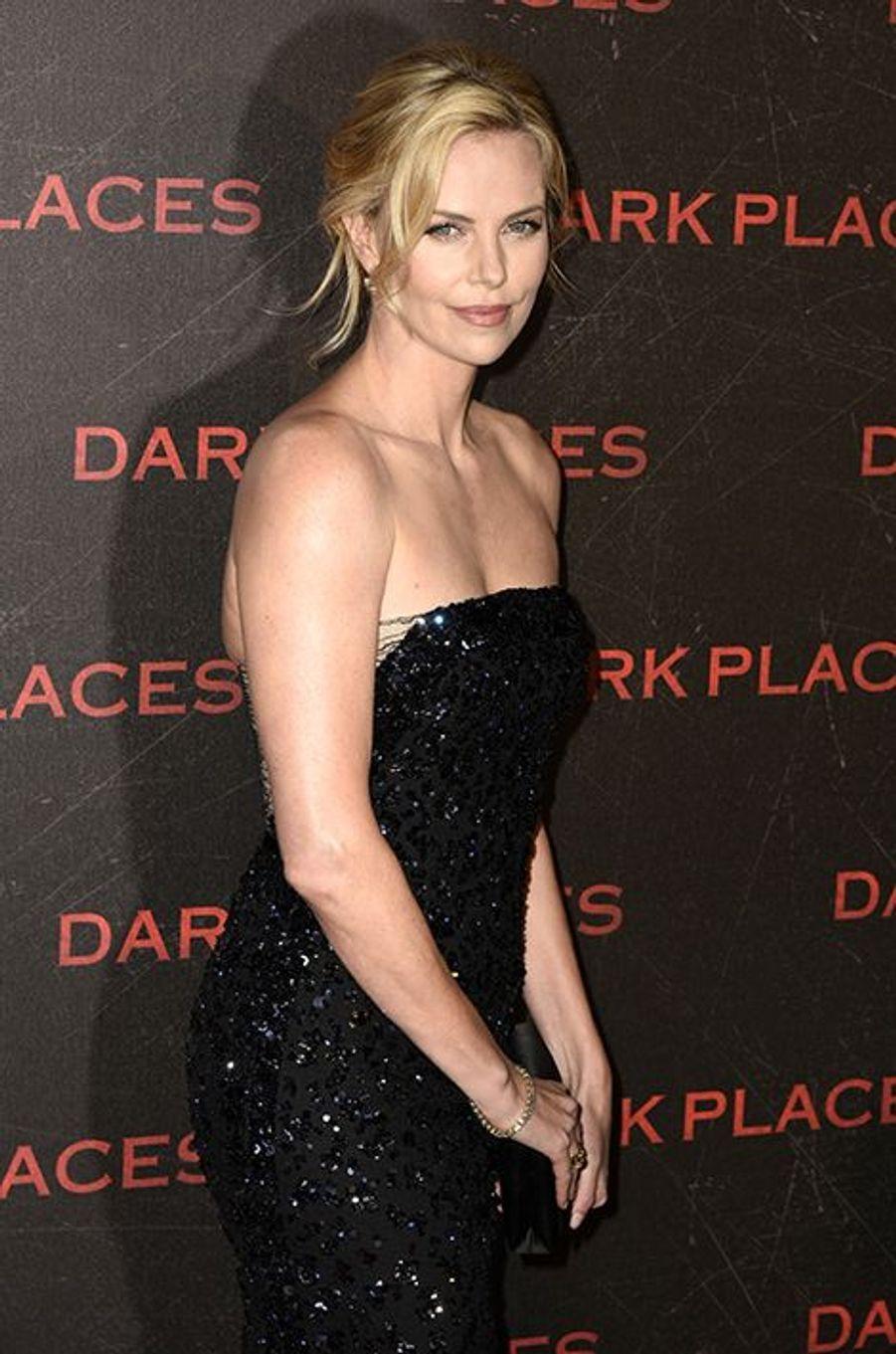 Charlize Theron à Paris le 31 mars 2015