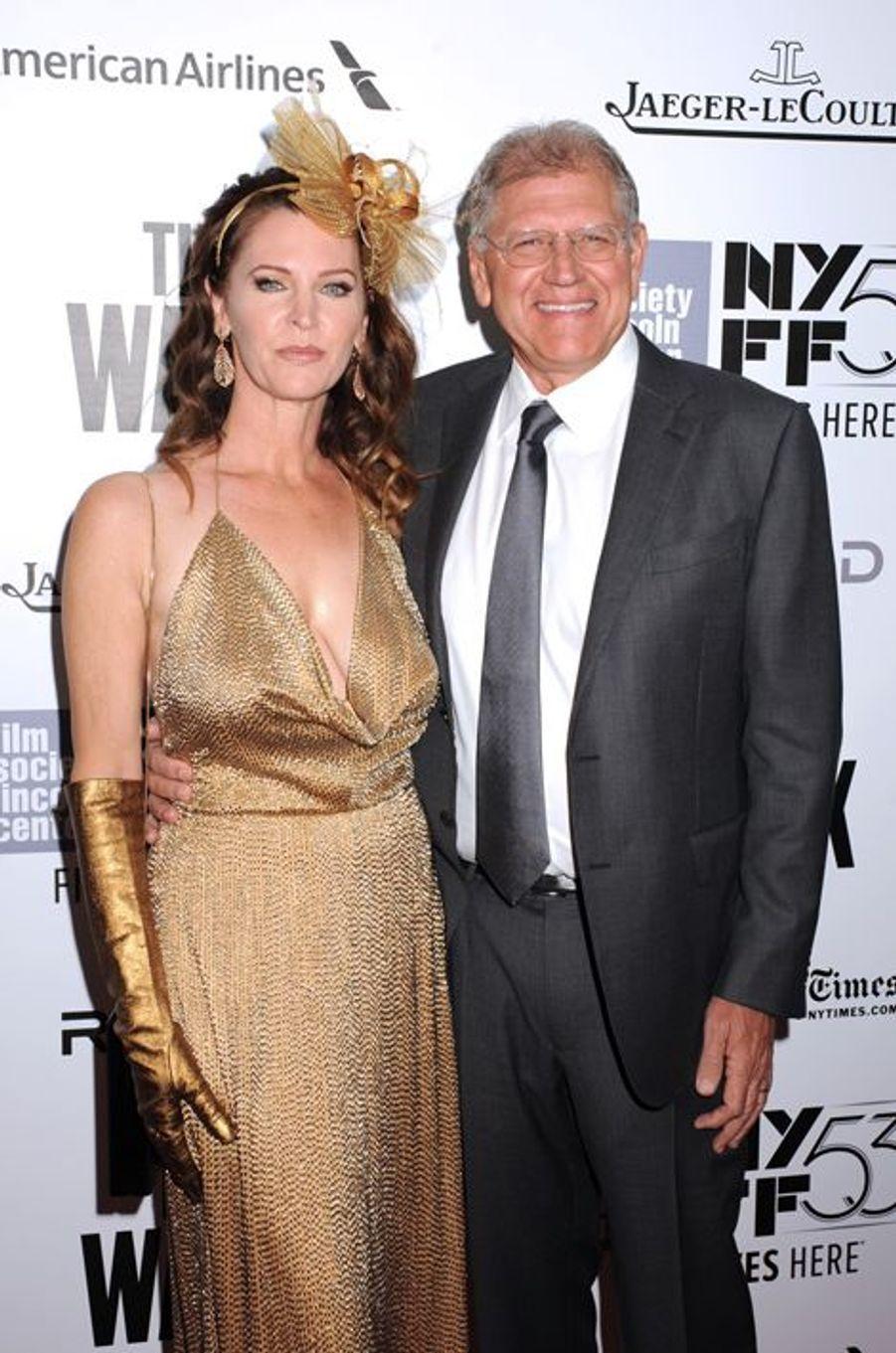 Robert Zemeckis et son épouse Leslie