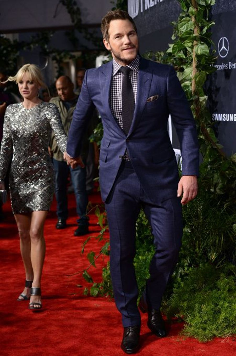 Anna Faris et Chris Pratt à Los Angeles le 9 juin 2015
