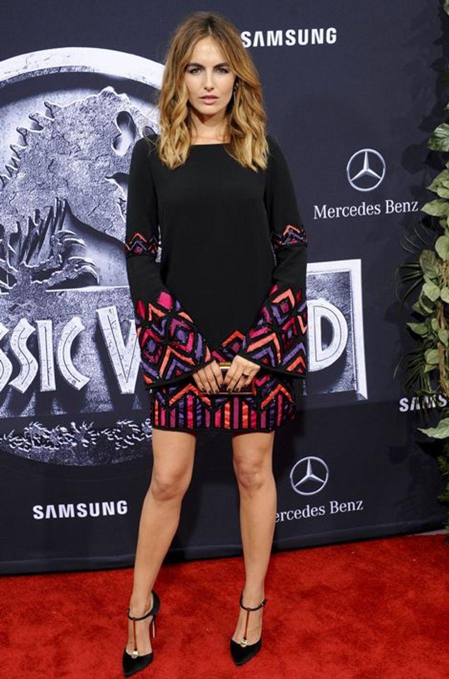 Camilla Belle à Los Angeles le 9 juin 2015