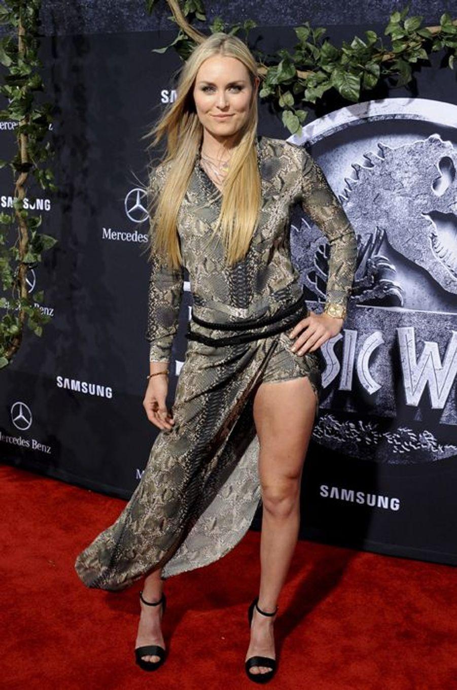 Lindsey Vonn à Los Angeles le 9 juin 2015