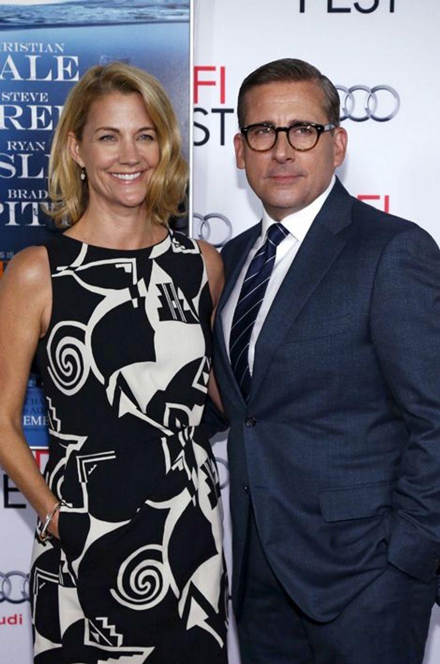 Steve Carell et son épouse