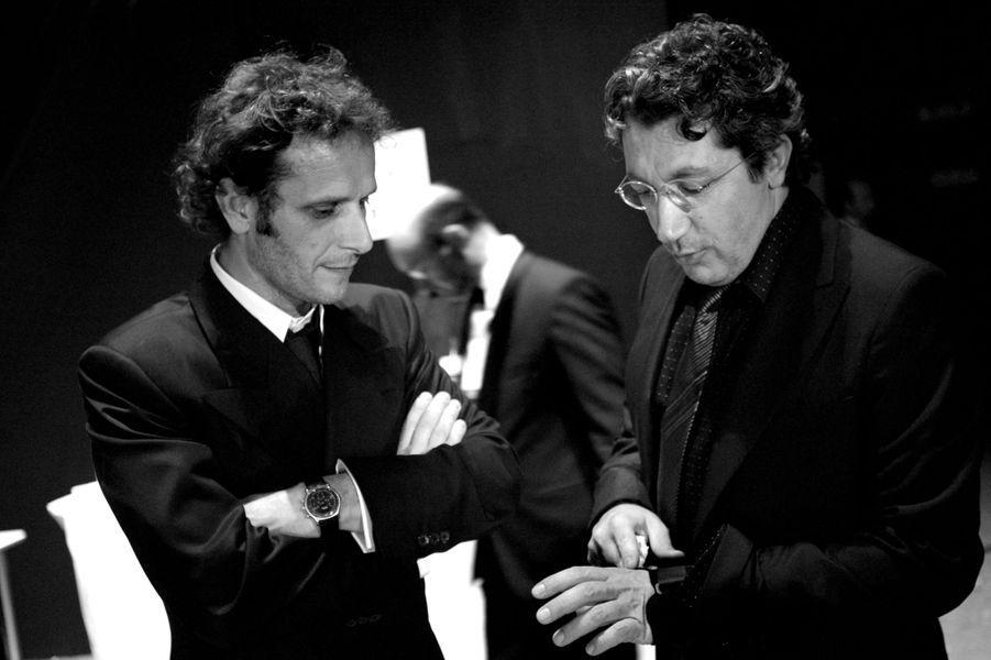 Charles Berling et Alain Chabat en 2003