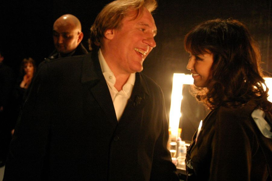 Gérard Depardieu et Isabelle Adjani en 2005