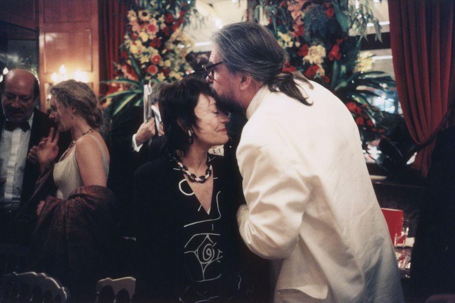 Michael Lonsdale et Annie Girardot en 1996