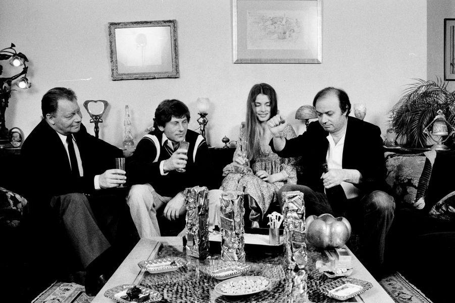 Roman Polanski et Claude Berri en 1980