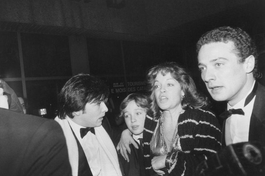 Romy Schneider en 1981