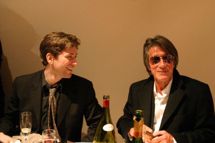 Thomas et Jacques Dutronc en 2005