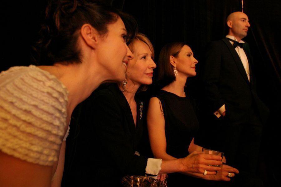 Zabou Breitman, Natalie Baye et Carole Bouquet en 2006