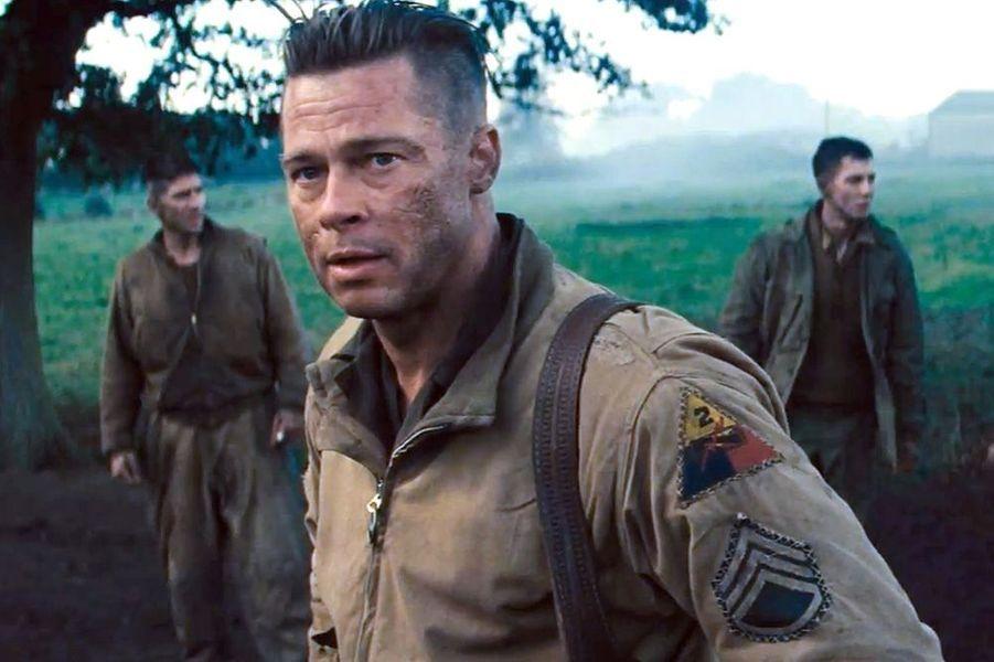 "Découvrez Brad Pitt en soldat dans ""Fury"""