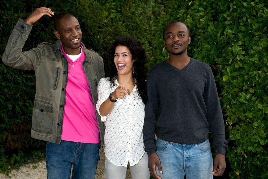 Abd Al Malik réalisateur, Sabrina Ouazani actrice et Marc Zinga acteur, pour «Qu'Allah bénisse la France»