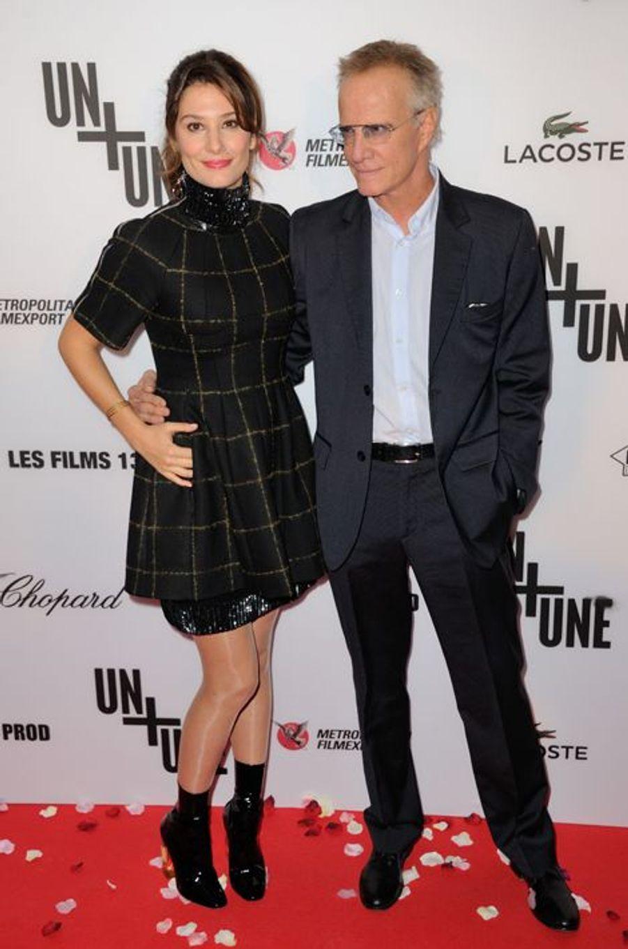 Alice Pol et Christophe Lambert à Paris le 23 novembre 2015