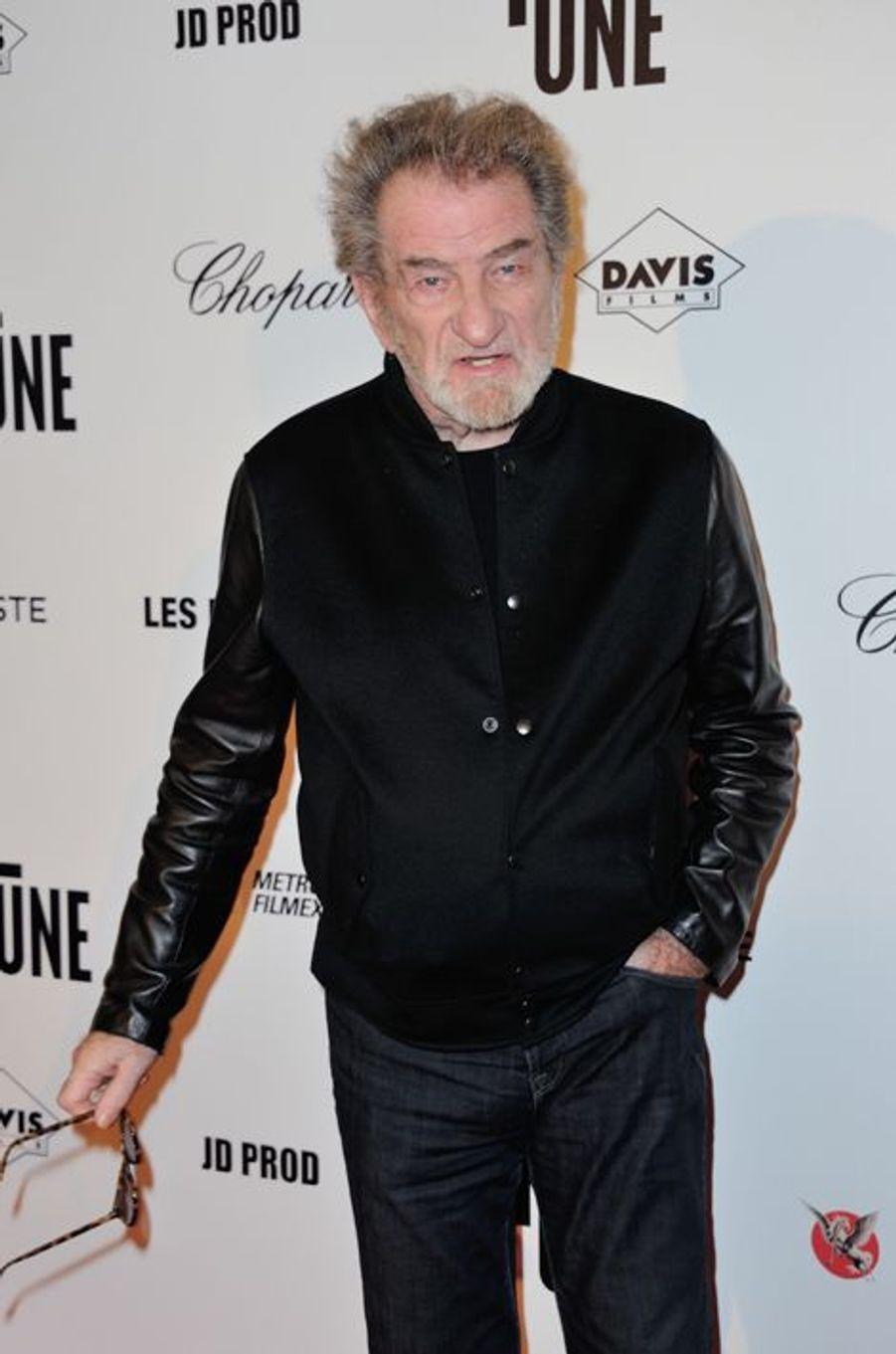 Eddy Mitchell à Paris le 23 novembre 2015