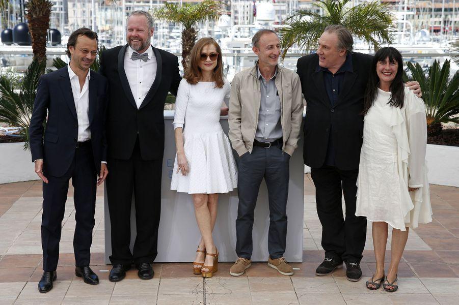 """L'équipe du film """"Valley of Love"""" à Cannes le 22 mai 2015"""