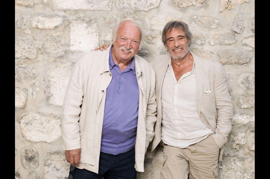 L'acteur Gérard Lanvin est à l'affiche de « Bon rétablissement ! », du réalisateur Jean Becker (à g.). Un film écrit avec Jean-Loup Dabadie, annoncé pour le 17septembre.