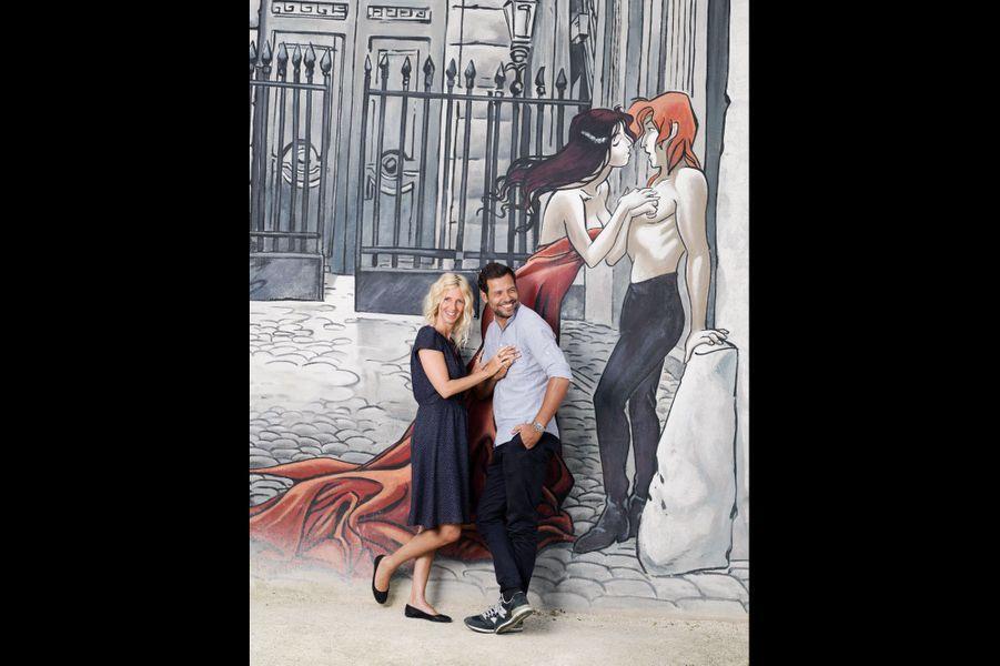 Sandrine Kiberlain et Laurent Lafitte à l'affiche de la comédie policière « Elle l'adore », de Jeanne Herry, au cinéma le 24 septembre.
