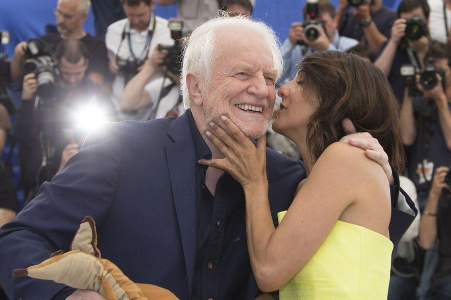 André Dussollier et Florence Foresti à Cannes le 22 mai 2015