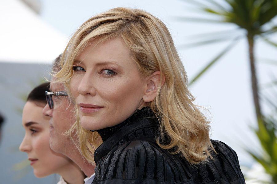 Cate Blanchett et Rooney Mara à Cannes le 17 mai 2015