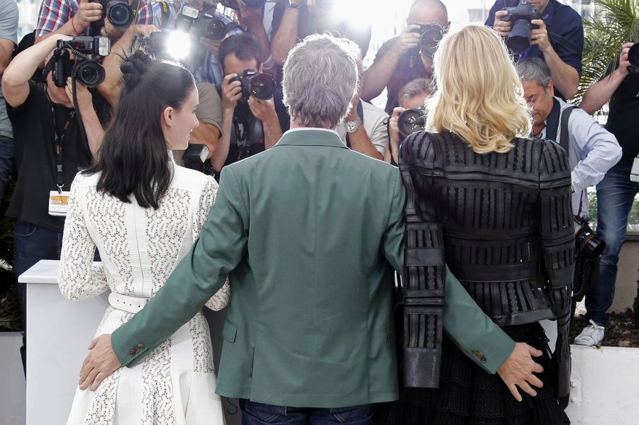 Rooney Mara, Todd Haynes et Cate Blanchett à Cannes le 17 mai 2015