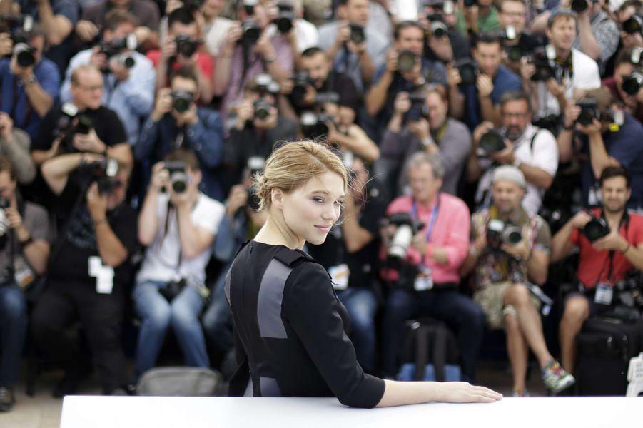 Léa Seydoux à Cannes le 15 mai 2015