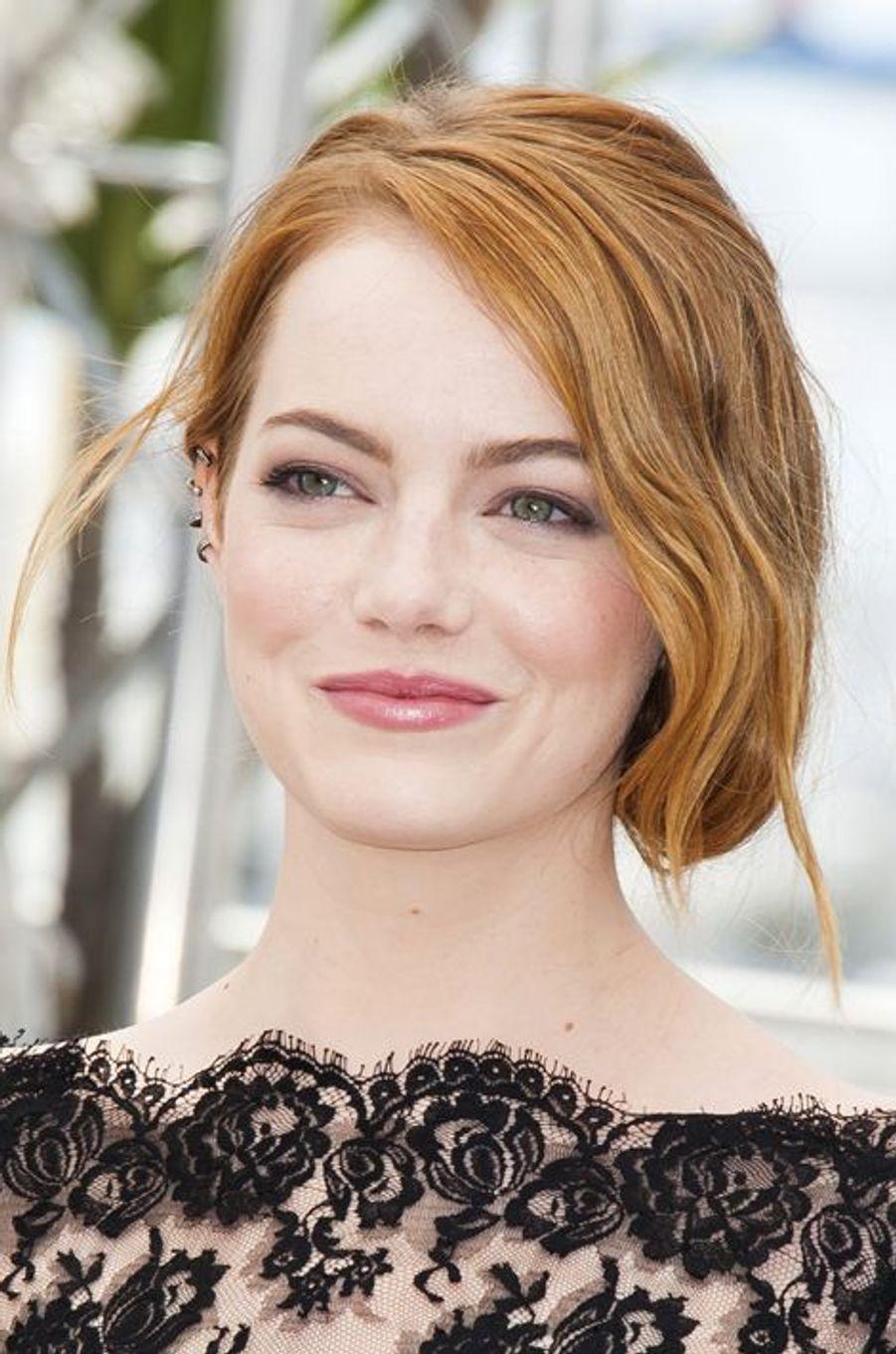 Emma Stone à Cannes le 15 mai 2015