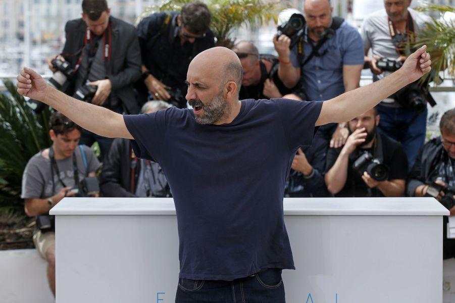 Gaspar Noé à Cannes le 21 mai 2015