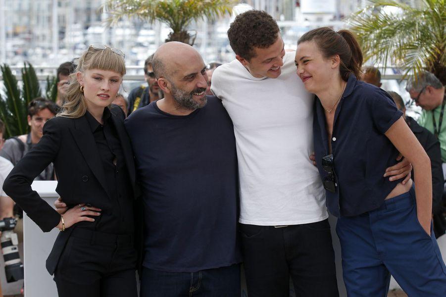 """L'équipe du film """"Love"""" à Cannes le 21 mai 2015"""
