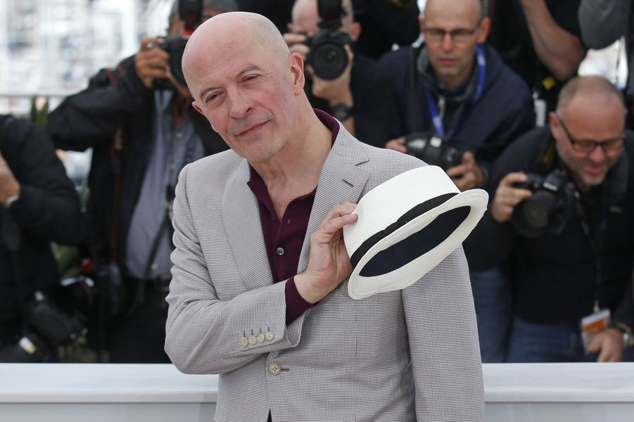 Jacques Audiard à Cannes le 21 mai 2015
