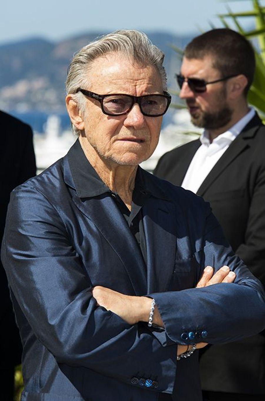 Harvey Keitel à Cannes le 20 mai 2015