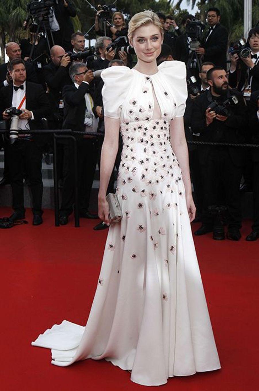 Elizabeth Debicki à Cannes le 23 mai 2015