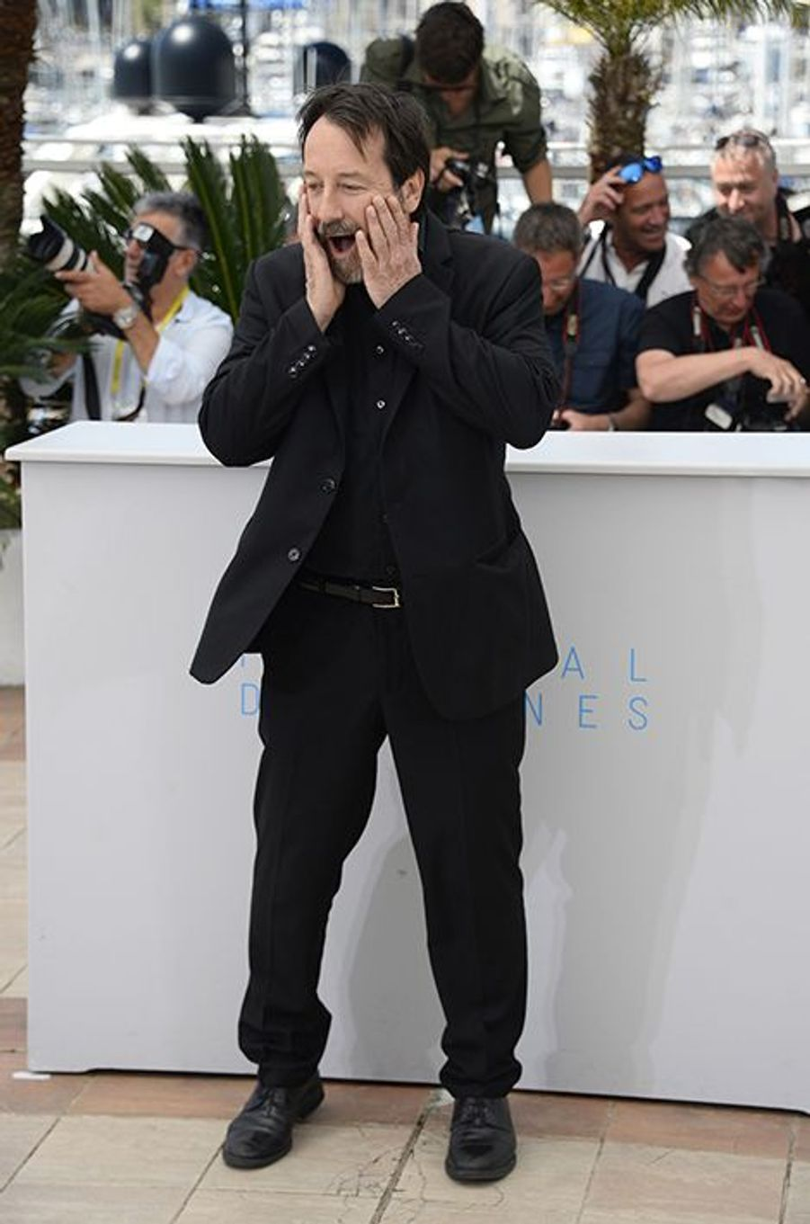 Jean-Hugues Anglade à Cannes le 20 mai 2015