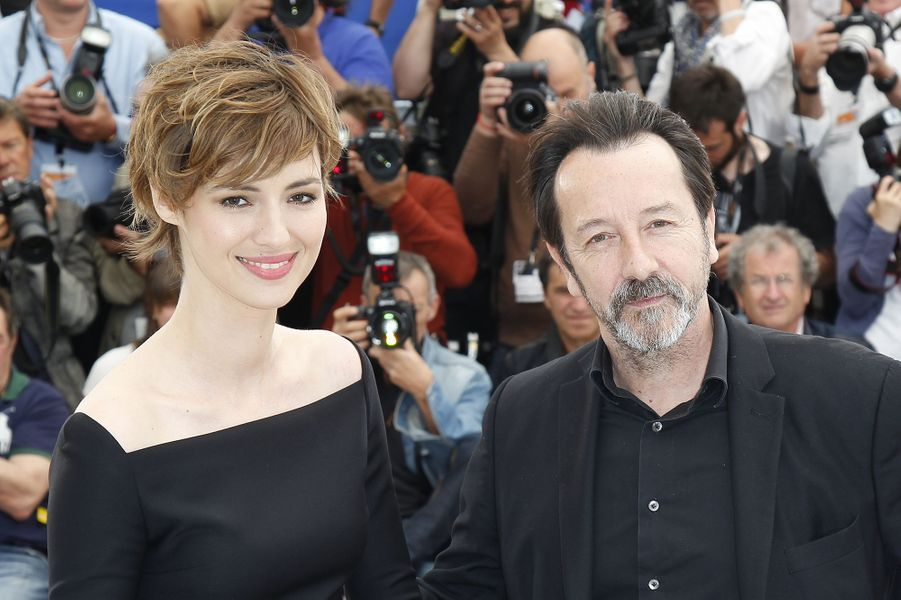 Louise Bourgoin et Jean-Hugues Anglade à Cannes le 20 mai 2015