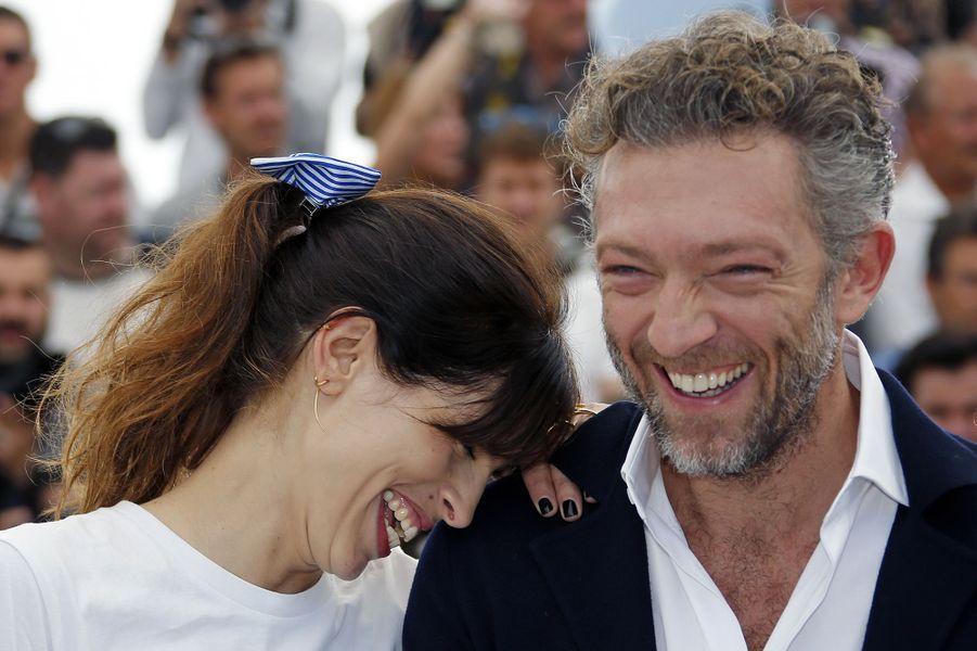 Maïwenn et Vincent Cassel à Cannes le 17 mai 2015
