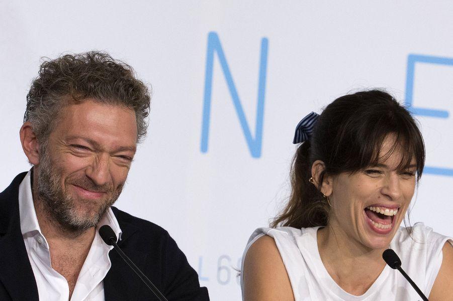 Vincent Cassel et Maïwenn à Cannes le 17 mai 2015