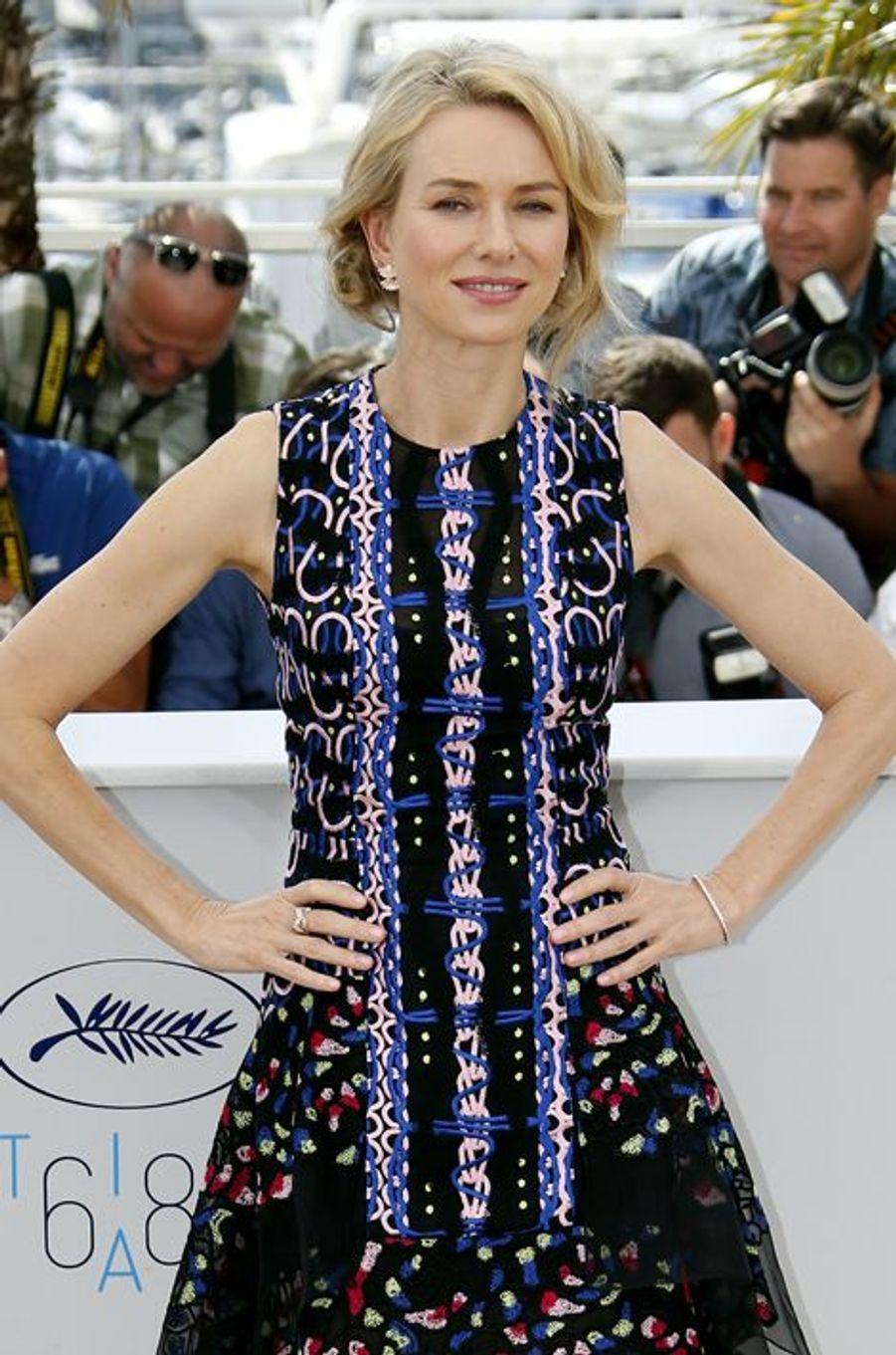 Naomi Watts à Cannes le 16 mai 2015
