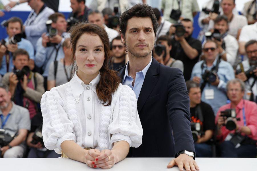 Anaïs Demoustier et Jérémie Elkaïm à Cannes le 19 mai 2015
